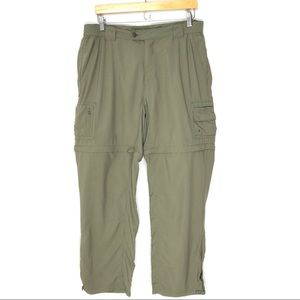 Columbia Large Titanium Convertible Cargo Pants